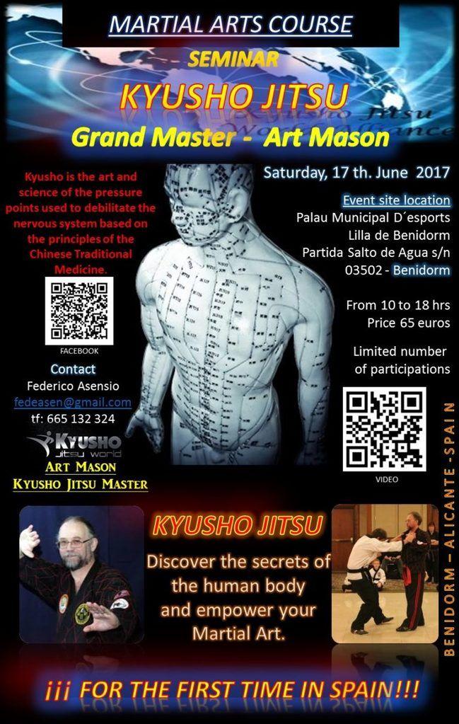 * 10 Principles of Kyusho Jitsu Seminar in Spain